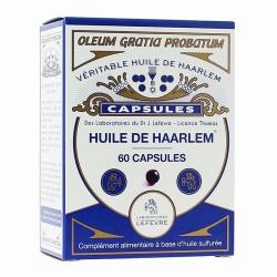 HUILE DE HAARLEM 60 capsules originales - Laboratoire Lefèvre