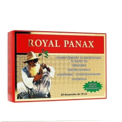 ROYAL PANAX 20 ampoules - Nutrition Concept