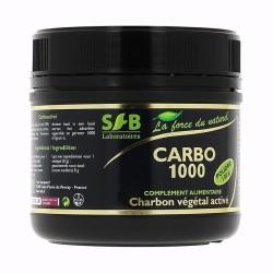 CARBO 1000 - Charbon végétal activé - Poudre 150 gr - SFB
