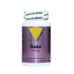 GABA 250mg (Sommeil réparateur, sérénité) - VITALL+