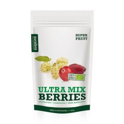 SUPER FRUITS Ultra mix berries BIO (Baie de Goji, Cranberries, Mûres blanches) - Purasana