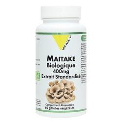 MAITAKE BIO 400 mg 60 gélules - Vitall +